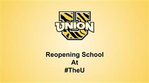 Reopening School At #theU